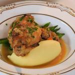 Anna Haugh roasted rabbit with Dijon sauce recipe
