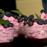 Simon Rimmer Blueberry Jelly Fool recipe on Sunday Brunch