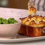Dan Doherty summery chicken pie recipe on This Morning