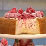 Nadiya Hussain raspberry ice cream cake recipe on This Morning