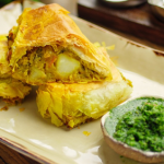 Simon Rimmer Bombay Potato Roll recipe on Sunday Brunch