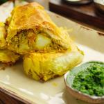 Simon Rimmer Bombay Potato Roll recipe on Sunday Brunch