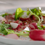 Jamie Oliver Dukkah beef carpaccio with Egyptian spices recipe