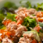 Anthony Costa tuna satay salad recipe on Get A Holiday Body