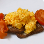 Linia Patel scrambled eggs and smoked salmon recipe on Get a Holiday Body
