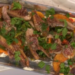 James Martin simple summer lamb recipe on This Morning