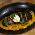 Simon Rimmer Duck With Aubergine And Labneh recipe