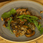 Simon Rimmer Miso Glazed Mushrooms With Barley recipe