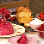 Phil Vickery summer pudding with brioche recipe on This Morning