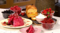 Phil Vickery served up a delicious summer pudding with berries, lemons and brioche bread on This Morning. The ingredients are: 250g fresh red, black or white currants or a mixture...