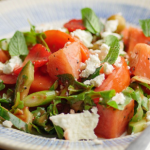 Simon Rimmer Watermelon And Strawberry Salad recipe
