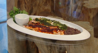 Rick Stein served up tasty Mexican bass fish with salsa verde and two sauces on Saturday Kitchen. See all of Rick's Mexican inspired recipes in his book titled: Rick Stein:...