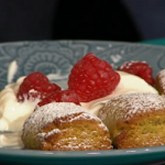 Simon Rimmer Pistachio 'Gnocchi' Biscuits recipe on Sunday Brunch
