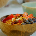 Pamela Higgins homemade granola recipe on Nadiya's Family Favourites