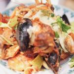 Jamie Oliver one pot seafood stew with garlic aioli recipe