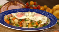 Phil Vickery served up the perfect potato and ham hash with fried eggs on This Morning. See recipes by Phil Vickery in his book titled: Phil Vickery's Essential Gluten Free...