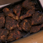 Rustie Lee real jerk chicken recipe on This Morning