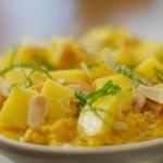 Nadiya Hussain mango lime lassi bircher recipe