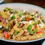 Dale Pinnock brown pasta salad recipe on Eat, Shop, Save