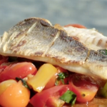 Gino's sea bass with salsa recipe on This Morning