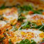 Nadiya Hussain smoky spinach shakshuka recipe