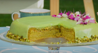 Prue Leith showcased her le gateau vert cake with spinach on The Great British Bake Off. The recipe is inspired by painter Claude Monet and was set as this weeks'...