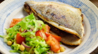 Simon Rimmer served up a tasty bream sandwich with salad on Sunday Brunch. The ingredients are: 8 x bream fillets, 175g pitted Medjool dates, 5g cinnamon, 5g coriander, 5g chilli...