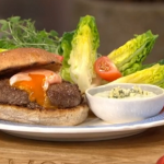 Tom Daley Olympic burger with eggs recipe on This Morning