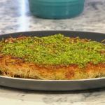 John Gregory Smith Classic Knafeh with cheese and pistachio nuts recipe on Sunday Brunch