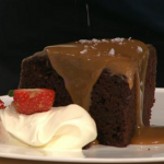 Simon Rimmer Mocha Cake With Salted Caramel on Sunday Brunch