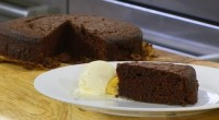 James Martin made a delicious chocolate cake with rum and caramel flambe bananas served with vanilla ice cream on James Martin's Saturday Morning. See recipes from James Martin in his...