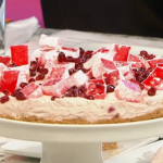 John Gregory Smith Turkish Delight Cheesecake recipe on Sunday Brunch