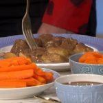 John Torode beef stew using Josie's recipe on This Morning