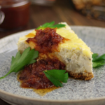 Simon Rimmer Cauliflower Cheesecake recipe on Sunday Brunch