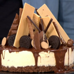 Joe Moruzzi and Brendon Parry cheesecake with caramel sauce recipe on This Morning