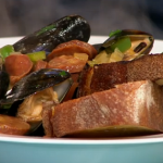 Tom Kerridge Portuguese Mussel Stew recipe on Sunday Brunch