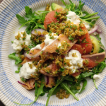 Simon Rimmer Smoked Trout And Grapefruit Salad recipe