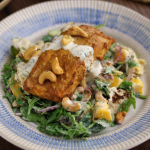 Simon Rimmer Tandoori Salmon Salad recipe on Sunday Brunch