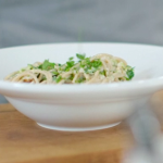 Priya Tew spaghetti carbonara with mackerel recipe on Eat Well For Less?