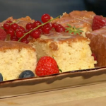 Simon Rimmer tres leches cake recipe on Sunday Brunch