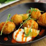 Simon Rimmer Chilli Corn and Feta Croquetas recipe on Sunday Brunch