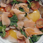 Liam Charles oi oi full brekky with soda bread recipe on Liam Bakes