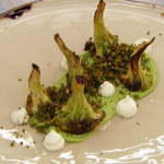 Monica Galetti broccoli 3 ways recipe on MasterChef: The Professionals