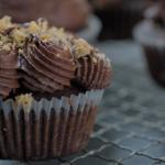 Liam Charles mega choccy cupcakes recipe on Liam Bakes