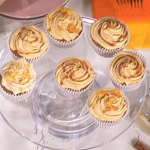 Rahul Mandal ginger and caramel cupcakes recipe on This Morning