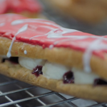 Liam Charles cola flavoured popping candy eclairs recipe on Liam Bakes
