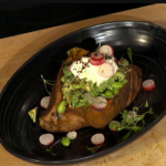 Simon Rimmer Sweet Potato With Avocado And Edamame recipe on Sunday Brunch