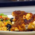 Jonathan Phang African chicken recipe on James Martin's Saturday Morning