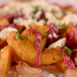 Catherine roasted butternut squash with cranberry and dates relish recipe