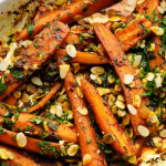Simon Rimmer Harissa Roasted Carrots recipe on Sunday Brunch